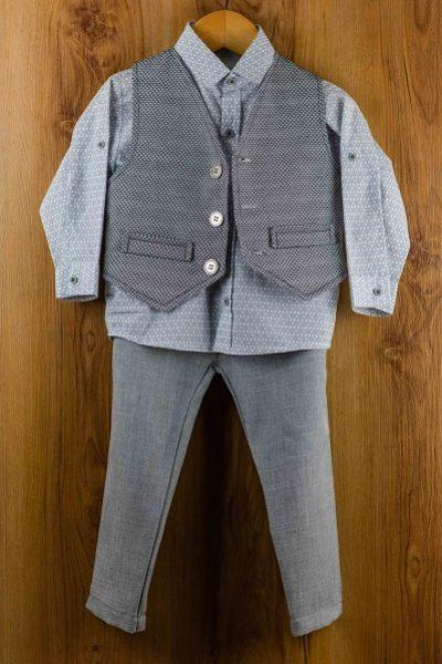 Κοστούμι-καλοκαιρινό--βάπτισης-για-αγόρι-Adam
