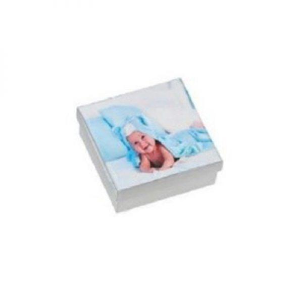 Κουτί με decoupage με φωτογραφία του μωρού