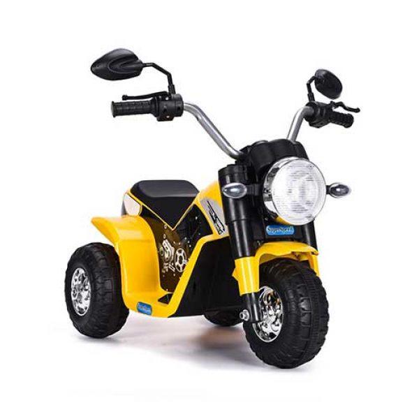 Παιδική-γουρούνα-μηχανή-κίτρινο