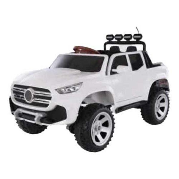 Παιδικό-αυτοκίνητο-τύπου-Μercedes-λευκό