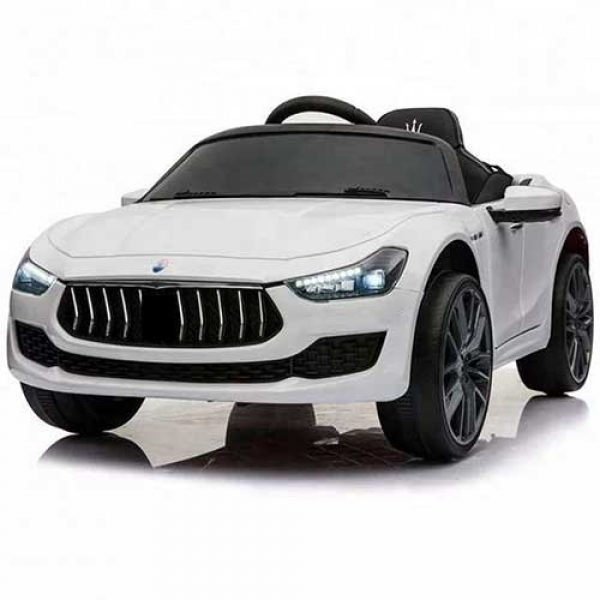 Παιδικό-αυτοκίνητο-τύπου-MASERATI-λευκό