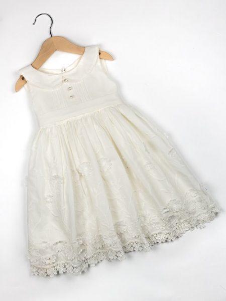 Φόρεμα καλοκαιρινό βάπτισης για κορίτσι Arianna