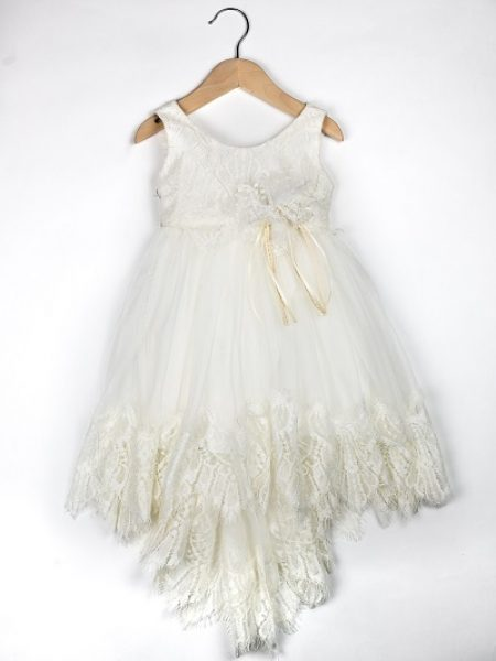 Φόρεμα καλοκαιρινό βάπτισης για κορίτσι Clara (2)