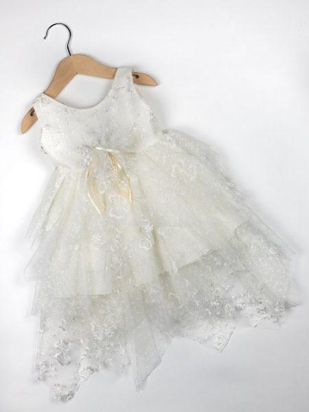 Φόρεμα καλοκαιρινό βάπτισης για κορίτσι Emeline (2)