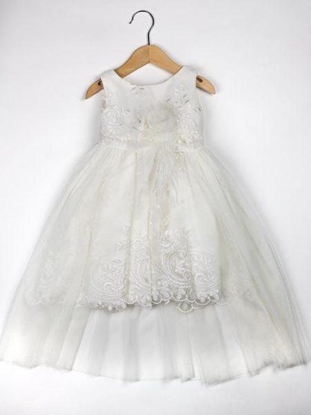 Φόρεμα καλοκαιρινό βάπτισης για κορίτσι Marjorie (3)