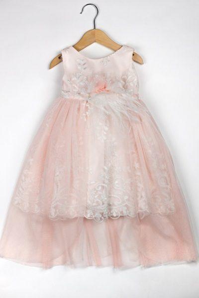 Φόρεμα καλοκαιρινό βάπτισης για κορίτσι Marjorie