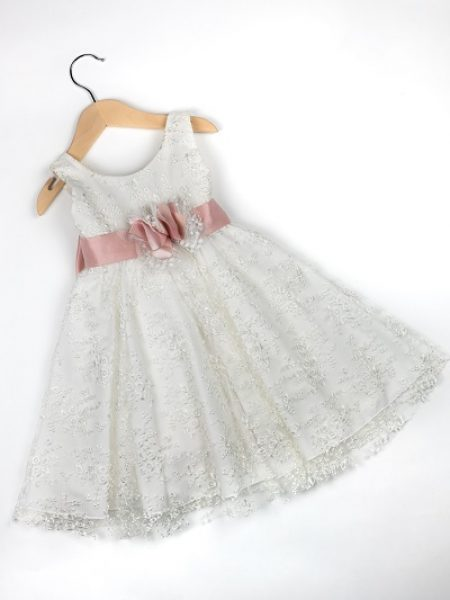 Φόρεμα καλοκαιρινό βάπτισης για κορίτσι Selena