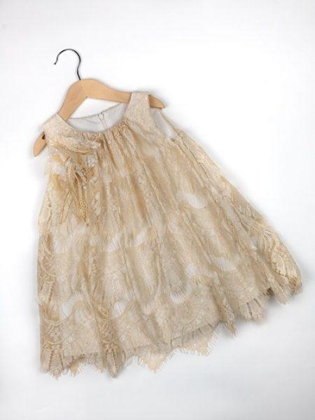 Φόρεμα καλοκαιρινό βάπτισης για κορίτσι Tatiana