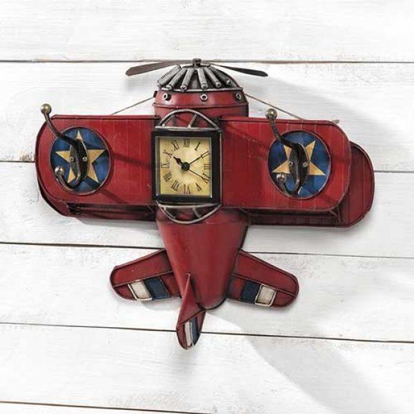 αεροπλάνο-ρολόϊ-τοίχου