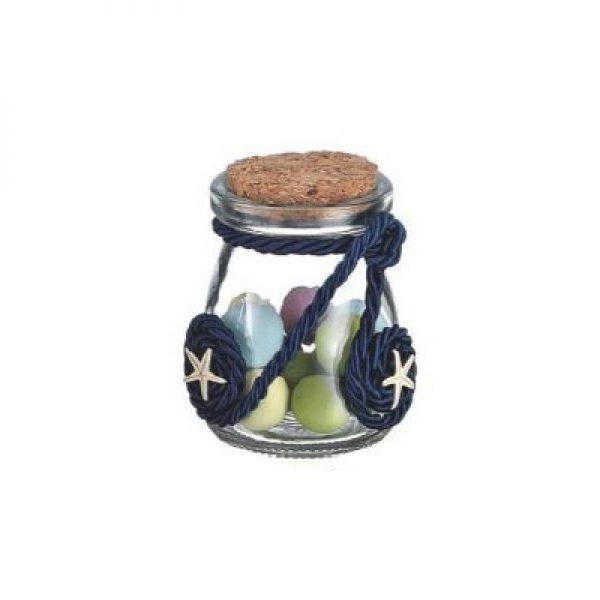 γυαλινο μπουκαλι με αστεριες