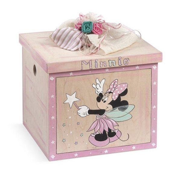 κουτί-βάπτισης-κύβος-minnie-νεράιδα