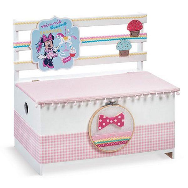 κουτί-βαπτιστικών-παγκάκι-minnie-carousel