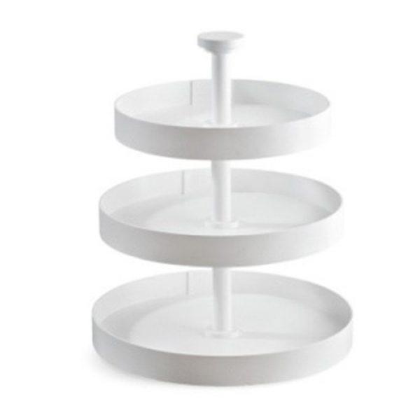 ξύλινη-λευκή-στρογγυλή-τριπλή-τουρτιέρα