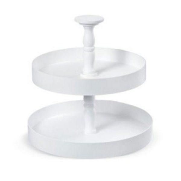 ξύλινη-στρογγυλή-τουρτιέρα-2-επιπέδων-σε-λευκό-εκρού