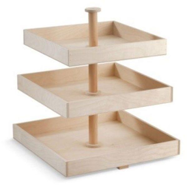 ξύλινη-natural-τετράγωνη-τριπλή-τουρτιέρα