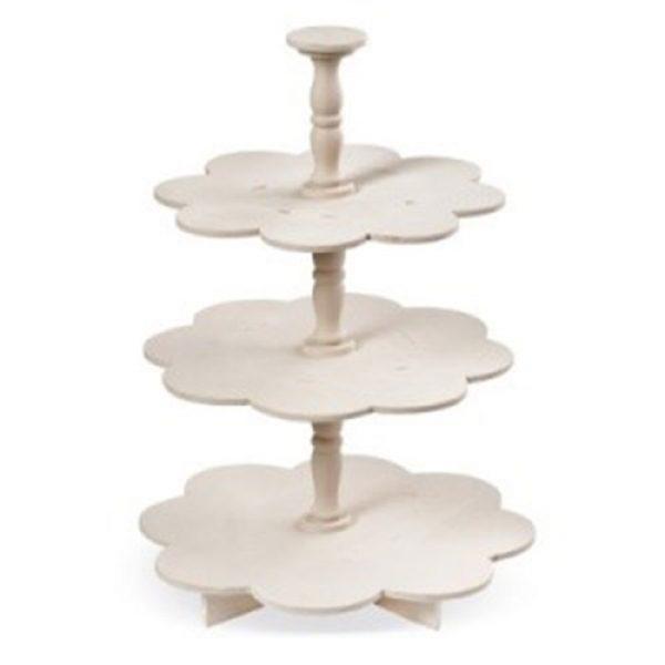 ξύλινη-natural-τουρτιέρα-μαργαρίτα-τριπλή