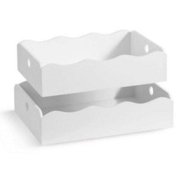 ξύλινο-λευκό-καλάθι-κύμα-σετ