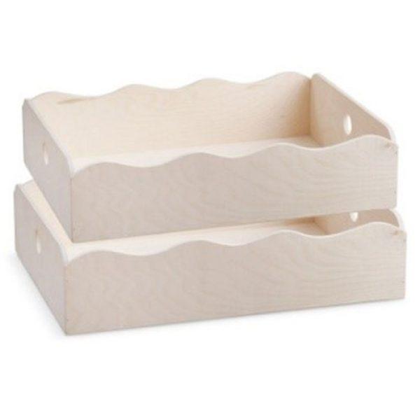 ξύλινο-natural-καλάθι-κύμα