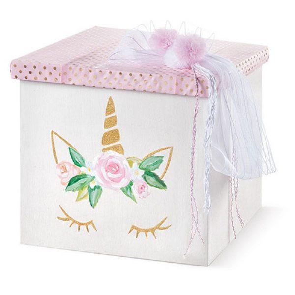 κουτί-βάπτισης-κύβος-με-καπάκι-μονόκερος