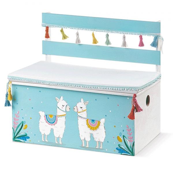 κουτί-βάπτισης-παγκάκι-llama