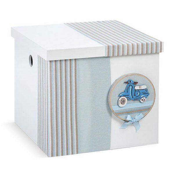 κουτί-βαπτιστικών-κύβος-βέσπα