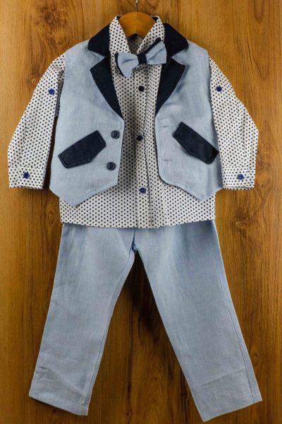 Κοστούμι-καλοκαιρινό--βάπτισης-για-αγόρι-Armand