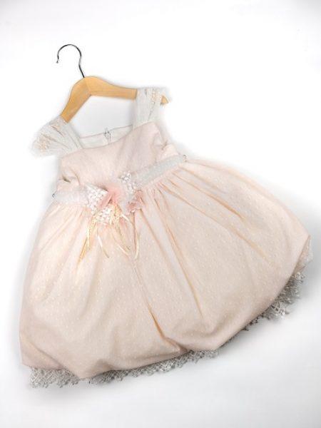 Φόρεμα καλοκαιρινό βάπτισης για κορίτσι Audrey
