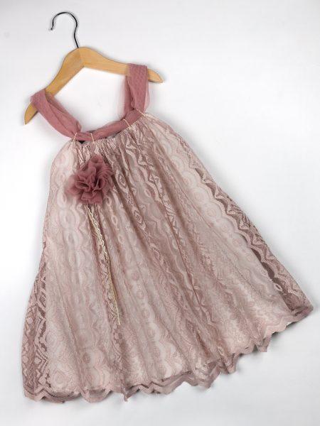 Φόρεμα καλοκαιρινό βάπτισης για κορίτσι Clarisse