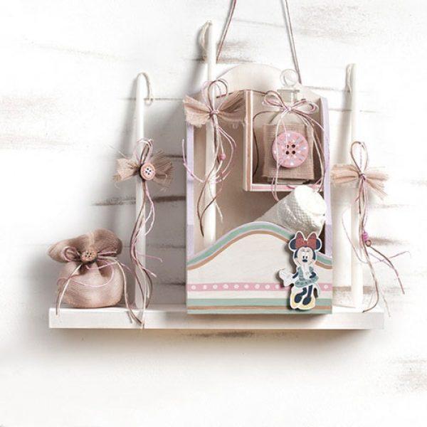 σετ-λαδιού-βάπτισης-minnie-dream-ε-αποχρώσεις-βεραμάν-ροζ-λευκές