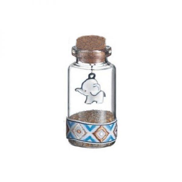 γυαλινο μπουκαλι ελεφαντακι