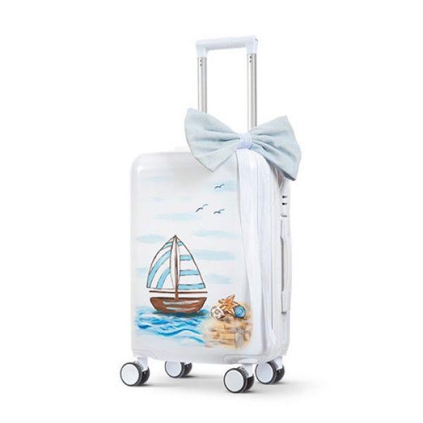 βαλίτσα-trolley-βαπτιστικών-καραβάκι
