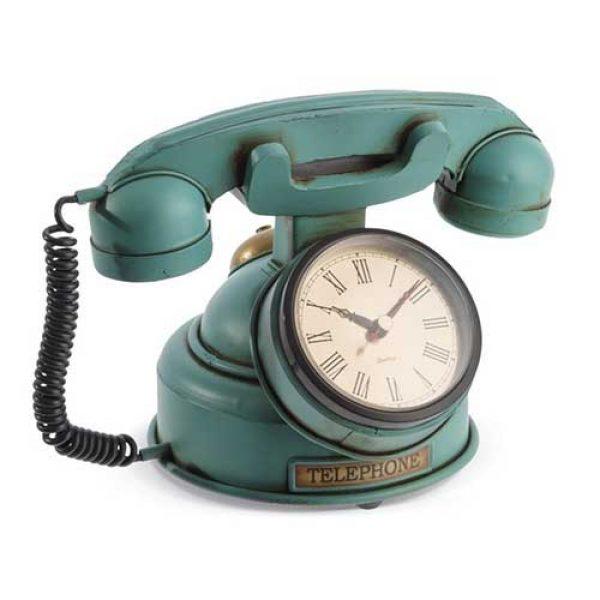 vintage-τηλέφωνο-ρολόϊ